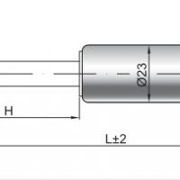 HAHN-GASFEDERN F 10-23锁紧气弹簧