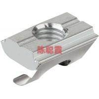 Norelem 球锈和耐酸钢自调心垫可通过O形圈调节弹簧
