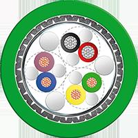 LEONI运动控制反馈电缆L45467-J317-C6