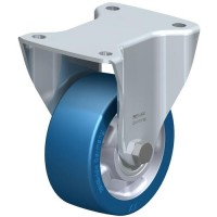 Blickle带凹槽的重型驱动轮实心钢制法兰轮毂