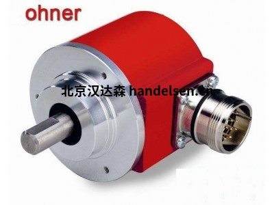 HOHNER工业应用螺纹凸出轴增量编码器系列 66