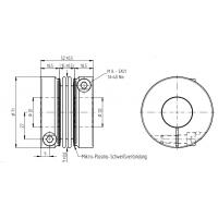 JAKOB 联轴器KG140-2W