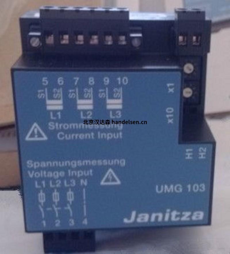 Janitza电能质量分析仪