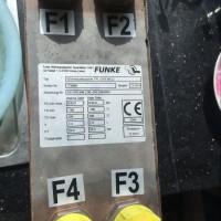 德国Funke管壳式换热器油风冷却器