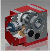 ZAE蜗轮减速器M 040 - M 315